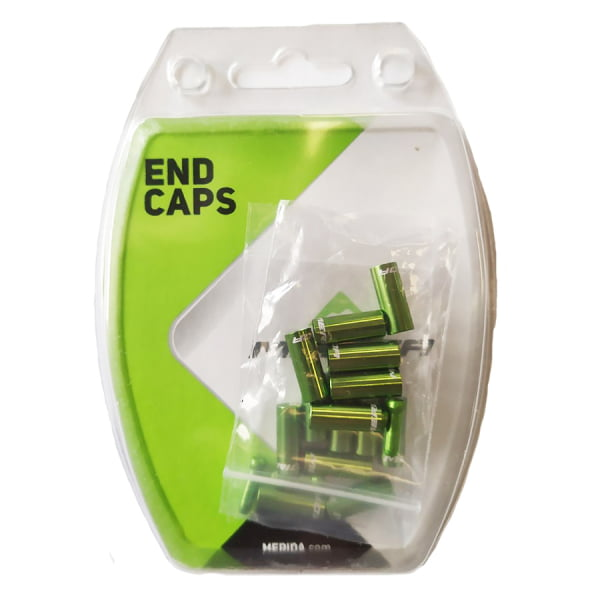 Комплект наконечников для рубашки/троса Merida Universal End Caps Green (2260001948)