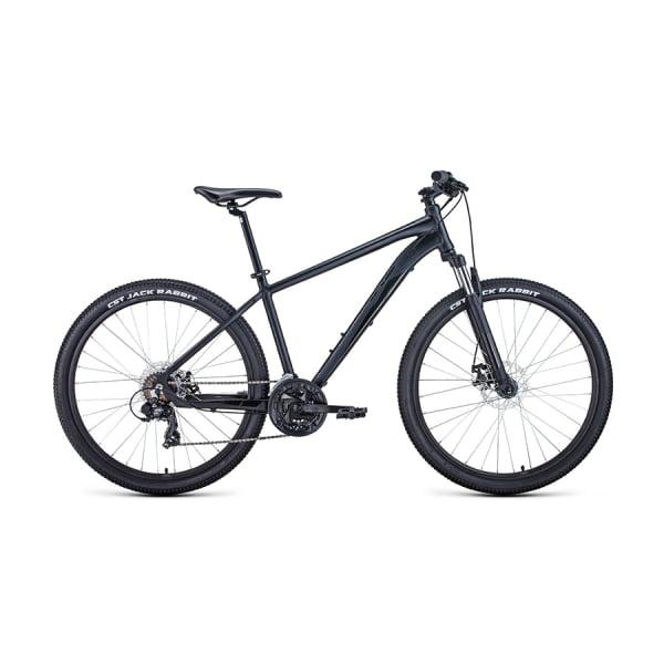 Велосипед 27,5` Forward Apache 27,5 2.0 disc AL Черный матовый/Черный 20-21 г