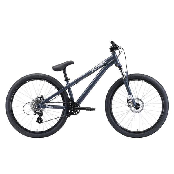 Велосипед Stark`20 Pusher-1 S серый/серебристый H000014185