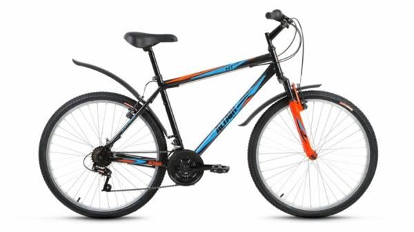 """Велосипед 26"""" Altair MTB HT 26 2.0 Черный 18 ск 17-18 г"""