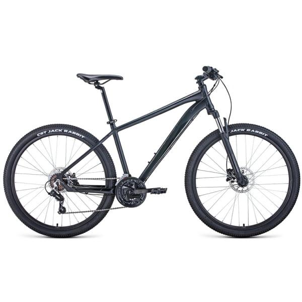 Велосипед 27,5` Forward Apache 27,5 3.0 disc AL Черный матовый/Черный 20-21 г