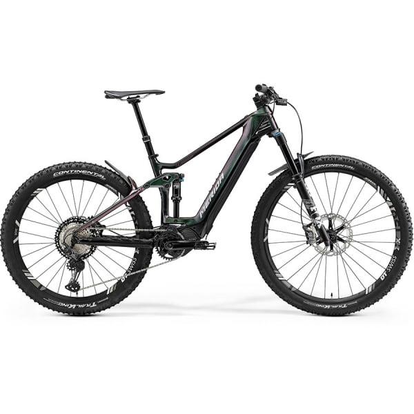 Велосипед Merida eOne.Forty 9000 CandyGreen/Black 2021