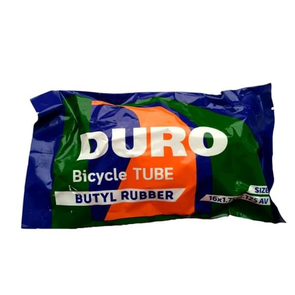 "Велокамера 16"" DURO 16х1,75/2,125 А/V ПЭ/DHB01003"