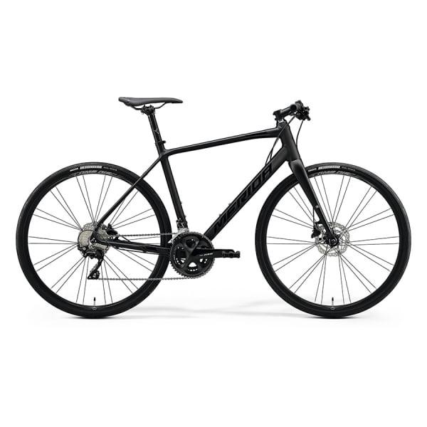 Велосипед Merida Speeder 400 MattBlack/GlossyBlack 2021