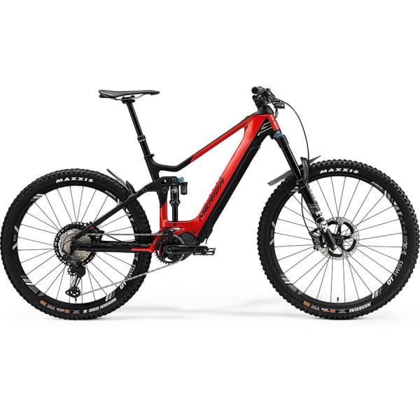 Велосипед Merida eOne.Sixty 9000 GlossyRed/MattBlack 2021
