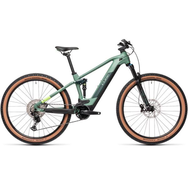 Велосипед CUBE STEREO HYBRID 120 RACE 625 29 (green`n`sharpgreen) 2021