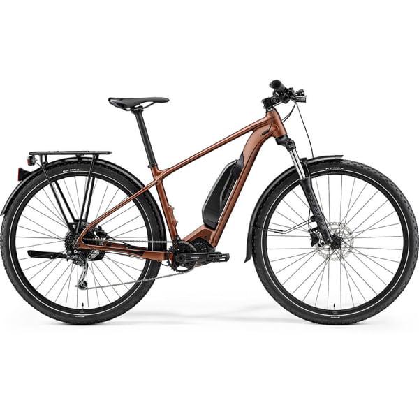 Велосипед Merida eBig.Nine 300SE EQ SilkBronze/Black 2021