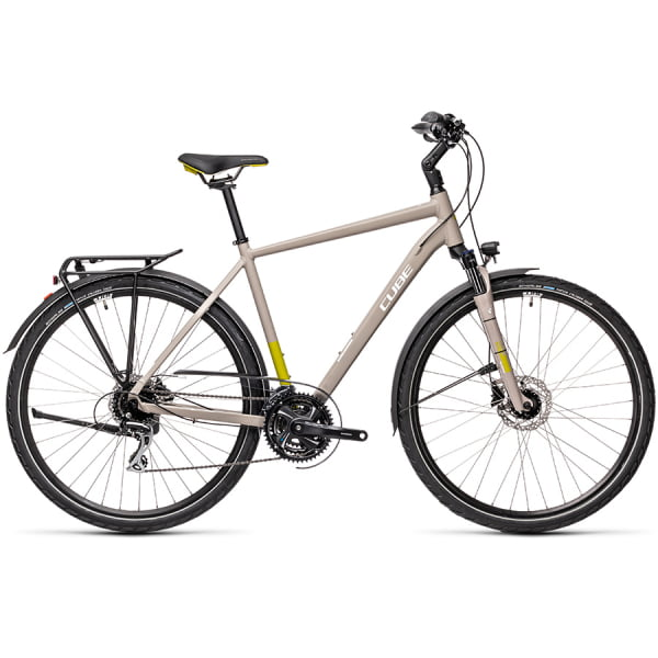 Велосипед CUBE TOURING PRO (grey`n`green) 2021