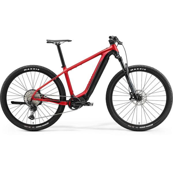 Велосипед  Merida eBig.Nine XT-Edition SilkRed/Black 2021