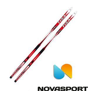 Лыжи Tisa — купить в интернет-магазине в Москве недорого   Лыжи Tisa (Тиса)  оптом и в розницу   Novasport.ru 9d6e1b5e56b