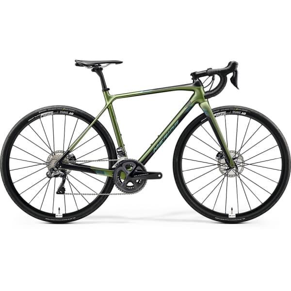 Велосипед Merida Mission Road 7000-E SilkFogGreen/Black 2020