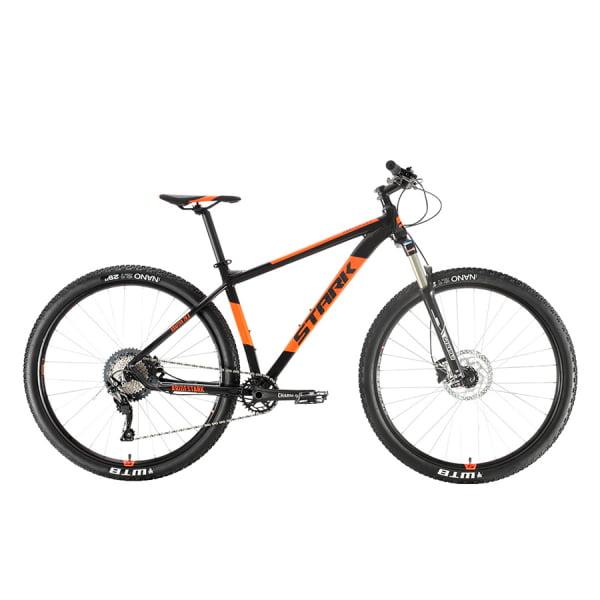 Велосипед Stark`20 Krafter 29.8 HD SLX черный/оранжевый