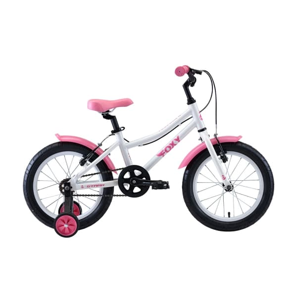 Велосипед Stark`20 Foxy 16 Girl белый/розовый H000016493