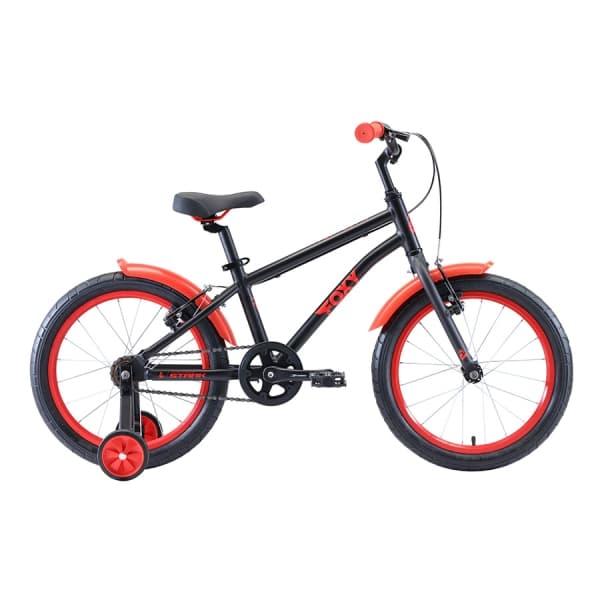 Велосипед Stark`20 Foxy 18 Boy чёрный/красный H000016490