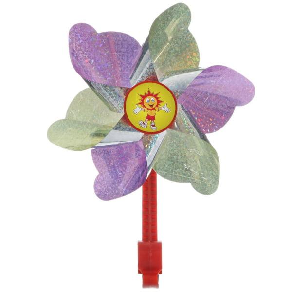 Ветряная мельница STG желто-фиолетовая X68660-5