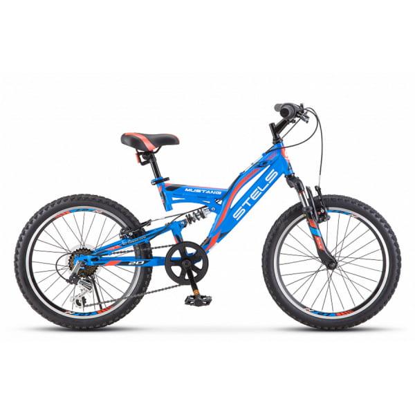 Велосипед Stels Mustang 20` V V010 Синий (LU092147)