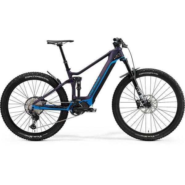 Велосипед Merida eOne.Forty 8000 SilkPurple/Blue 2021