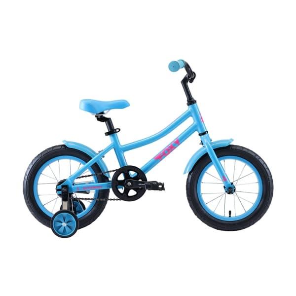 Велосипед Stark`20 Foxy 14 Girl бирюзовый/розовый H000016495
