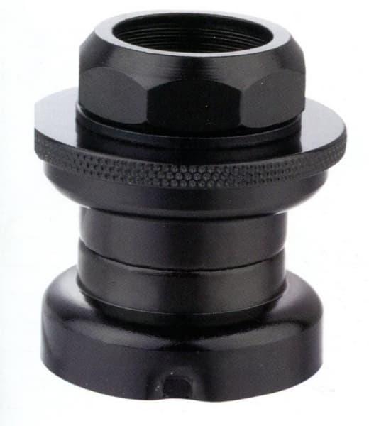"""Детали рулевой колонки KL-B202K 1"""" резьб. сталь. чёрн. с ограничителем/170116"""