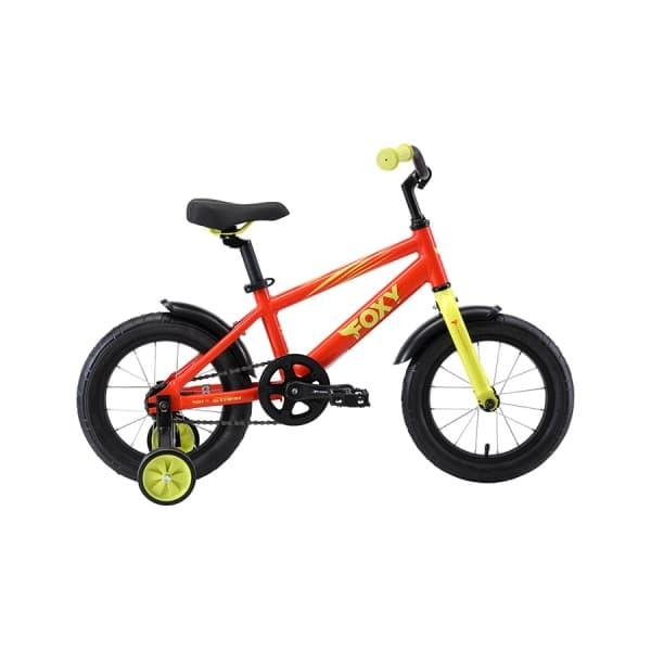 Велосипед Stark`19 Foxy 14 оранжевый/зелёный H000013948