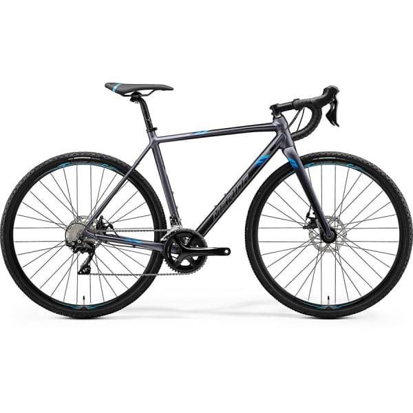 Велосипед Merida Mission CX400 MattSilver/Blue 2020