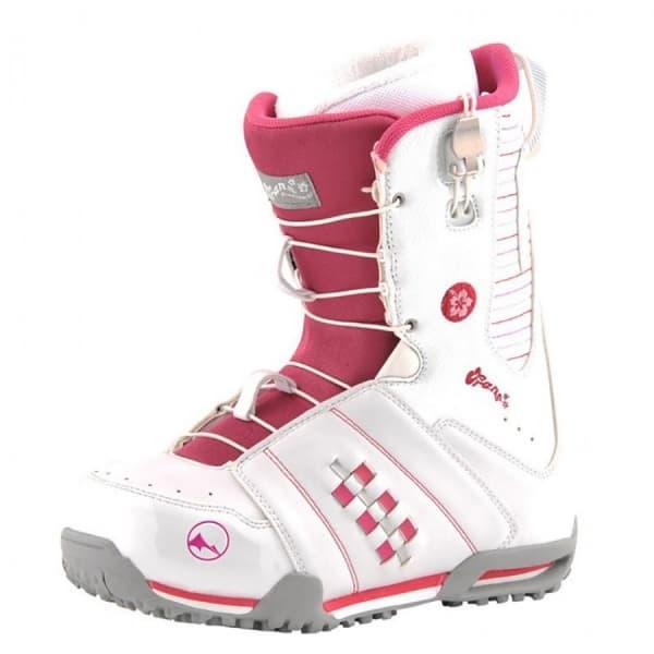 Ботинки для сноуборда TRANS Girl Rider white