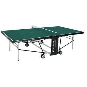Стол теннисный Donic Indoor Roller 900 зеленый