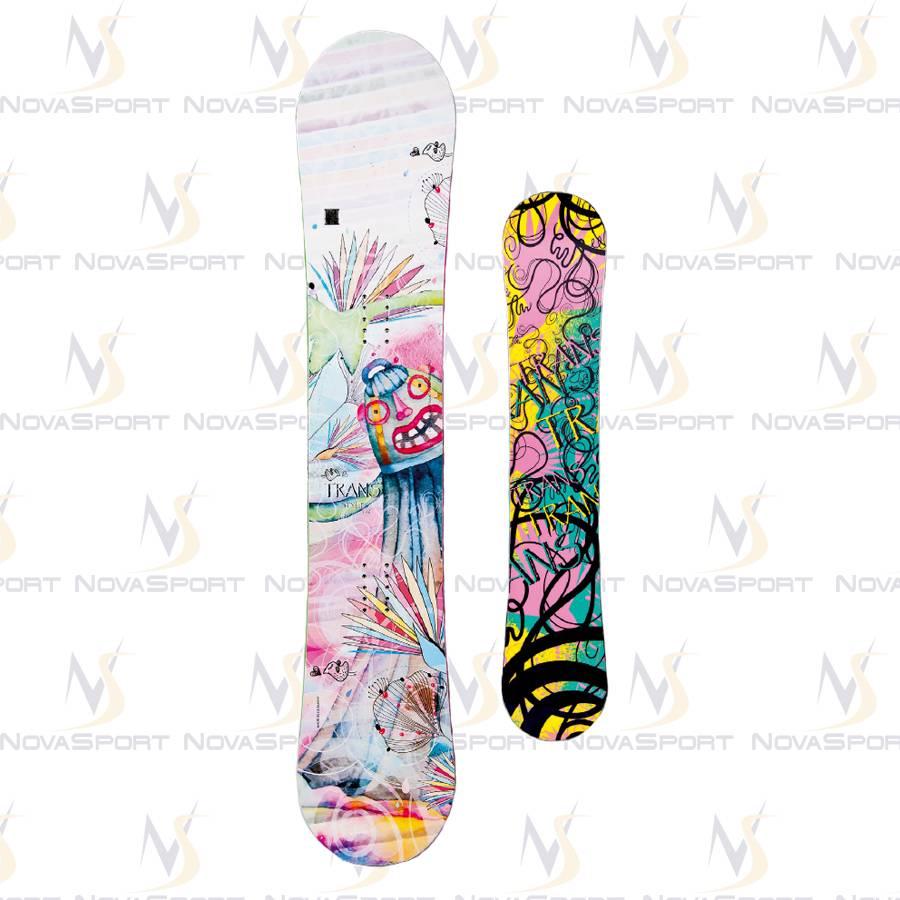 Сноуборд TRANS Girl Style rocker white (2014)