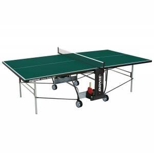 Стол теннисный Donic Indoor Roller 800 зеленый