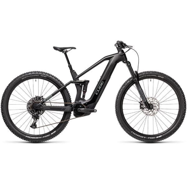 Велосипед CUBE STEREO HYBRID 140 HPC RACE 625 29 (black`n`grey) 2021