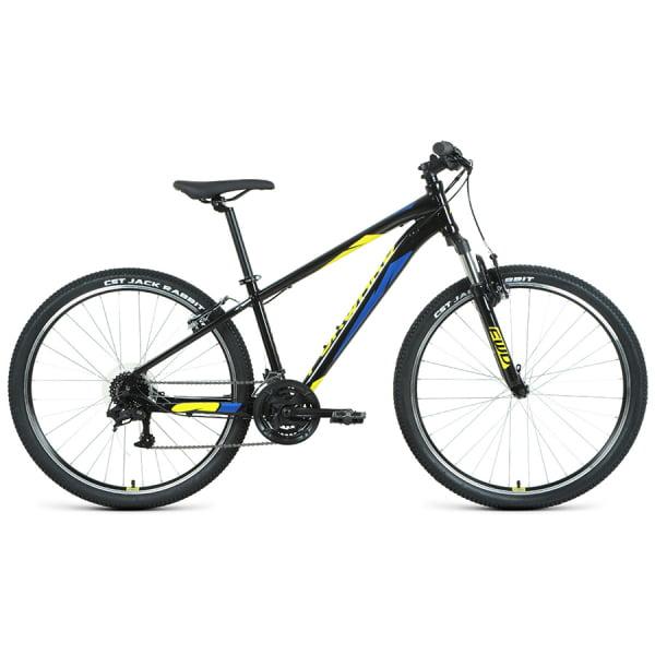 Велосипед 27,5` Forward Apache 27,5 1.2 S AL Черный/Желтый 20-21 г