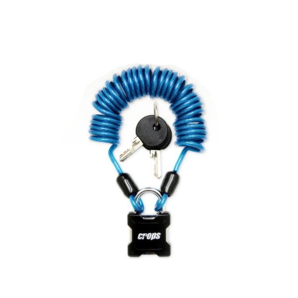 Велозамок Crops SPD 01 Spider G Синий