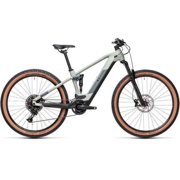 Велосипед CUBE STEREO HYBRID 120 PRO 500 29 (lunar`n`grey) 2021