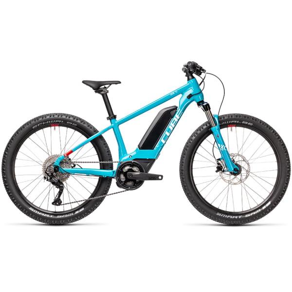 Велосипед CUBE ACID 240 HYBRID Rookie SL 400 24 (petrol`n`white) 2021