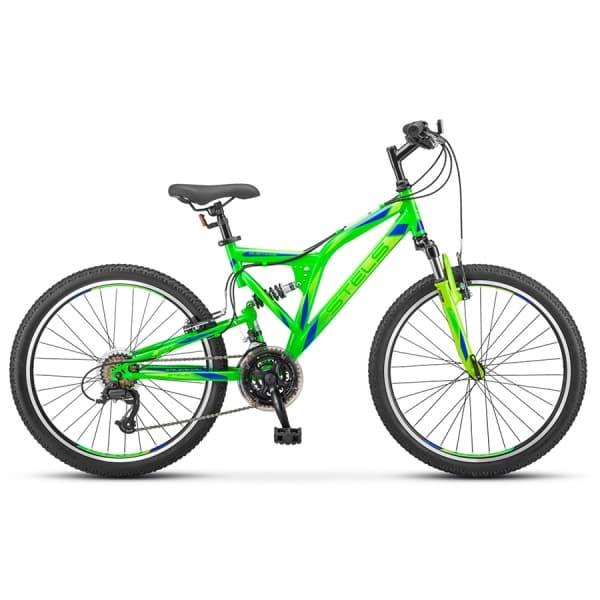 """Велосипед Stels Mustang 24"""" V V020 Неоновый-Зеленый"""