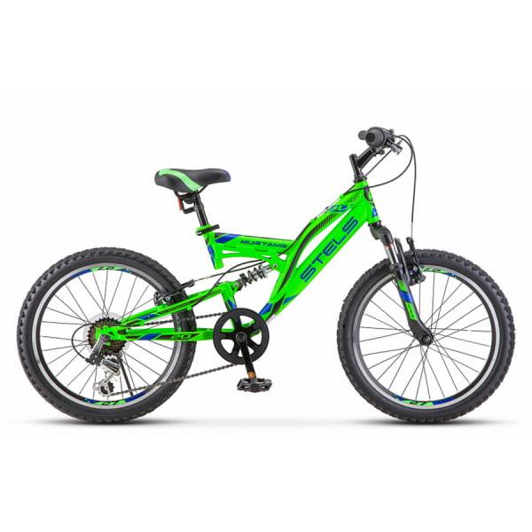 Велосипед Stels Mustang 20` V V010 Зелёный (LU092147)