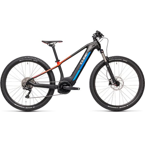Велосипед CUBE REACTION HYBRID Rookie SL 400 (Teamline) 2021