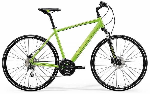 Велосипед Merida Crossway 20-D Green (Lite Green/Black) 2018