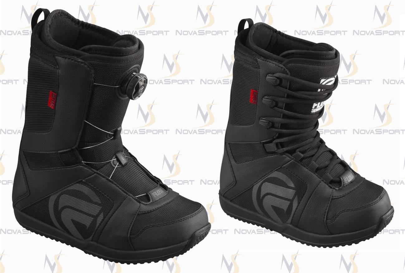 Ботинки для сноуборда men Flow Vega Boa std BLK/BLK