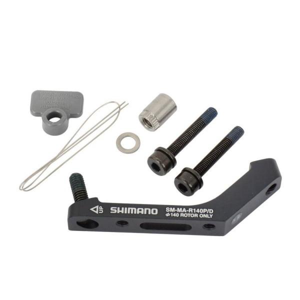 Адаптер диск торм Shimano  R140P/D, болт фиксир. (2шт) для 25мм, фикс. проволока 1шт. ISMMAR140PDH