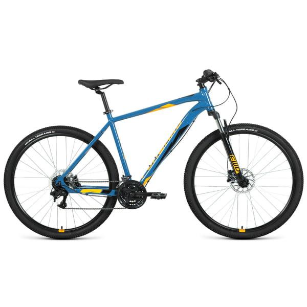 Велосипед 29` Forward Apache 29 3.2 disc AL Бирюзовый/Оранжевый 20-21 г