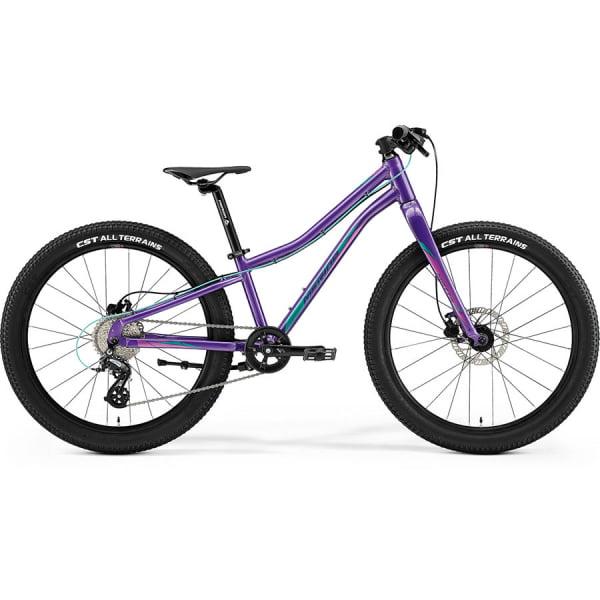 Велосипед Merida Matts J24+ DarkPurple/PalePink/Teal 2021