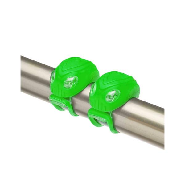 Комплект фонарей JY-267-18 зелёные/560152