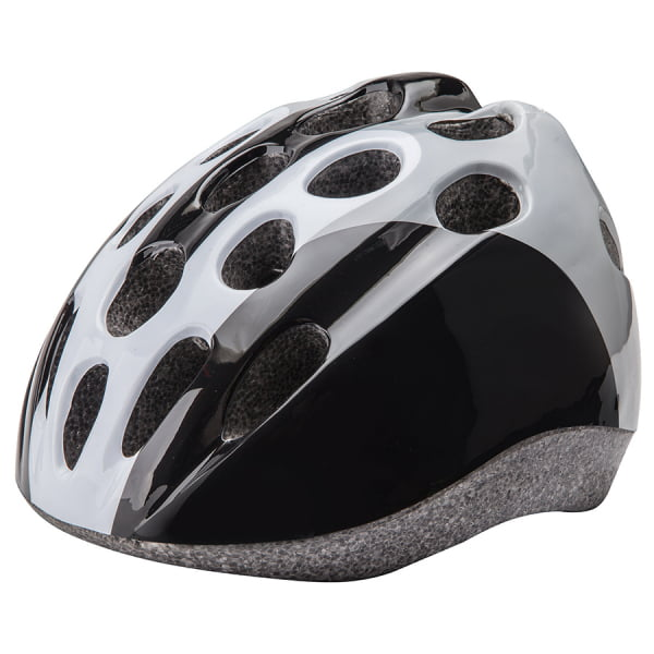 Шлем защитный HB5-3_d (out mold) черно-бело-серый/600114