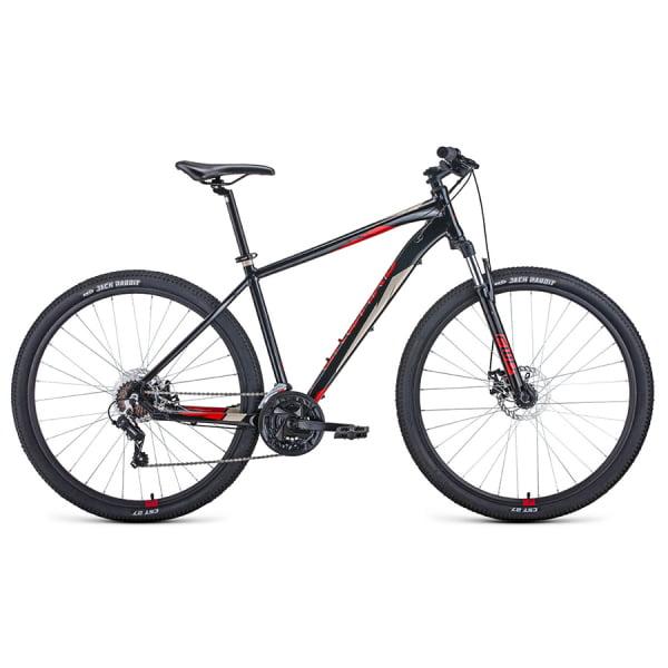 Велосипед 29` Forward Apache 29 2.0 disc AL Черный/Красный 20-21 г