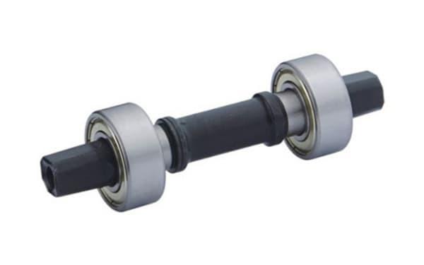 Вал каретки под квадрат 122mm KL-910D (с промподшип)