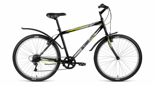 """Велосипед 26"""" Altair MTB HT 26 1.0 Черный 6 ск 17-18 г"""