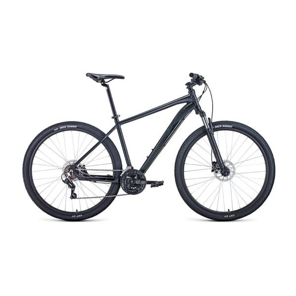 Велосипед 29` Forward Apache 29 3.2 disc AL Черный матовый/Черный 20-21 г