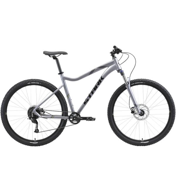 Велосипед Stark`21 Tactic 29.4 HD серебристый/чёрный