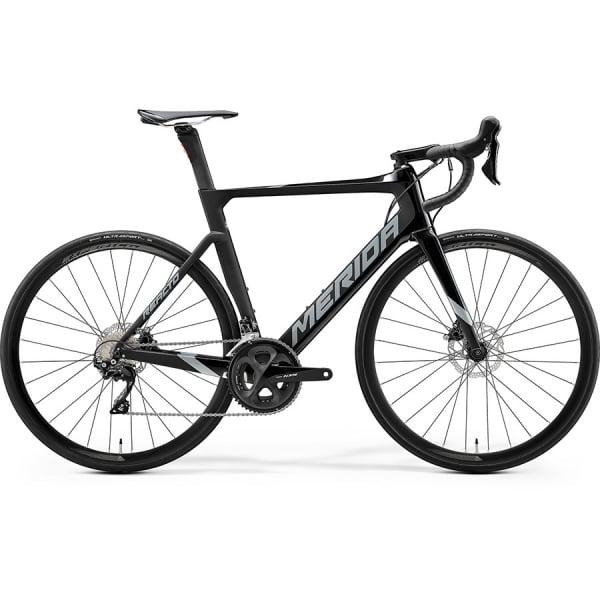 Велосипед Merida Reacto 4000 GlossyBlack/MattBlack/DarkSilver 2020